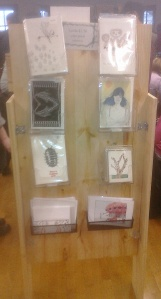 photo of greeting card display