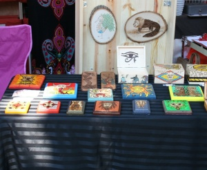 Photo of setup at Constructor Craft Fair
